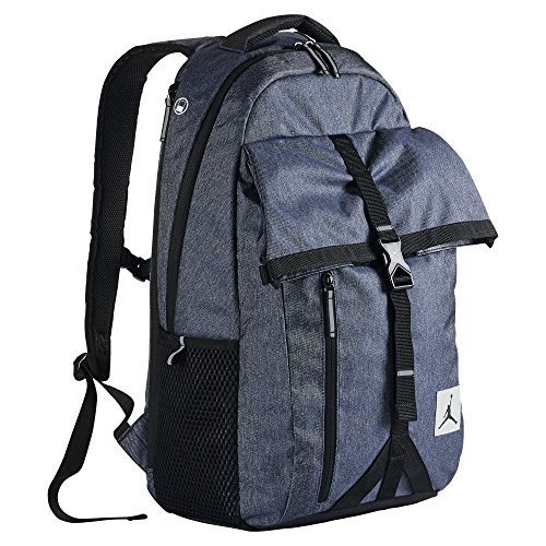 726a8bf329846a Nike Jumpman Jordan Takeoff Backpack 9A1794-U99 Navy Heather Laptop sleeve  42L