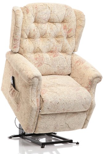 Oriental Leather Co Ltd The Oldbury - Riser Recliner/Lift & Tilt Chair in Beige Fabric