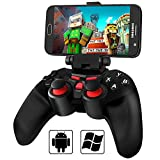 BEBONCOOL Wireless Bluetooth Game Controller with Clip for VR/Android Phone/Tablet/TV Box