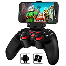 Android Game Controller, BEBONCOOL Wireless Gamepad, Bluetooth Game Controller with Clip for Android Phone/ Tablet/ TV Box/ Gear VR