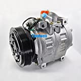 Holdwell Car AC Compressor 88320-36560 88320-36530 for Toyota Coaster Bus 7PK 10P30C