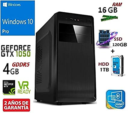 PC Ordenador SOBREMESA Gaming Intel Core I7-8700 HEXACORE 6X 4.60 ...