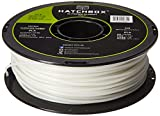 HATCHBOX 3D PLA-1KG3.00-GLOW PLA 3D Printer Filament, Dimensional Accuracy +/- 0.05 mm, 1 kg Spool, 3.00 mm, Glow HATCHBOX Supplies