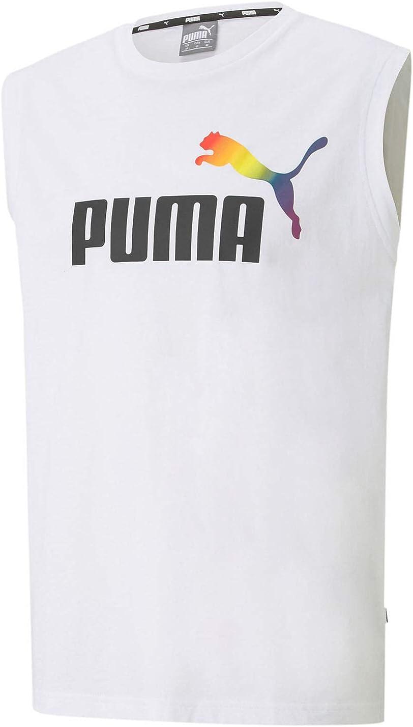 PUMA Mens Pride Sleeveless Tee Shirt