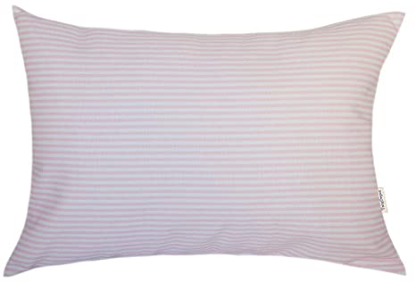 Amazon.com: TangDepot - Funda de almohada de algodón a rayas ...