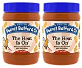Peanut Butter & Co. Peanut Butter, The Heat is On, 16 Ounce Jars (Pack of 2)
