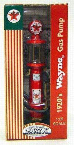 Wayne Gas Pump (Die Cast Replica 1920's Texaco Wayne Visible RED Gas Pump by)