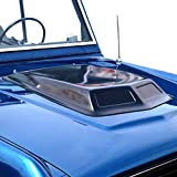 KBD Body Kits Universal 1 Piece Polyurethane Large Hood Scoop. Extremely Durable - Easy Installation - Made in the USA!