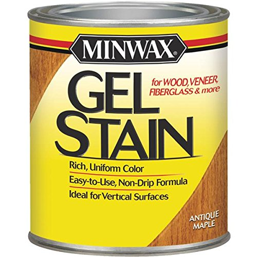 Minwax 26030 1/2 Pint Antique Maple Gel Stain Interior -