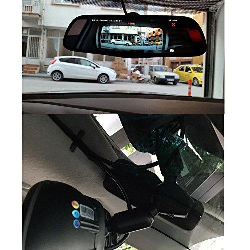 """Junsun 3G 7"""" Dash Cam Touch Honda Special Car DVR Camera"""
