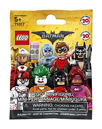 LEGO 71017 – THE LEGO BATMAN MOVIE – Factory Sealed Case of 60 Minifigures