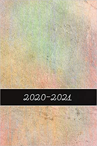 2020 - 2021: 2 Year Weekly Planner 2020 - 2021 - Pattern ...