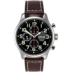 Zeno-Watch Mens Watch - OS Pilot Chronograph Germany - 8557TVDD-pol-a1-Germany