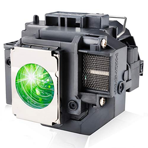 LBTbate Replacement Projector Lamp Bulb for Epson ELPLP58/ V13H010L58 for with Housing EX3200 EX5200 EX7200 PowerLite 1220 1260 S9 X9 S10 VS200 EB-S10 EB-S9 EB-S92 EB-W10 EB-W9 EB-X10 EB-X9 EB-X92