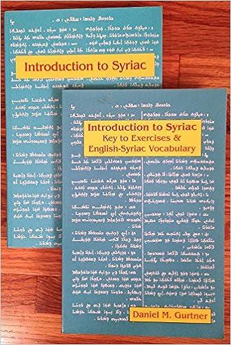 THACKSTON SYRIAC DOWNLOAD