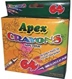 Apex Crayon 64ct - Assorted Colors 48 pcs sku# 1277493MA