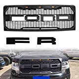 Front Grille Fits 2009 2010 2011 2012 2013 2014 FORD F150 Raptor Style Grill For F150 2009-2014 (BLACK)