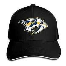 C2Ucdi Nashville Predators Adjustable Baseball Cap/Hat Hip Hop Hat