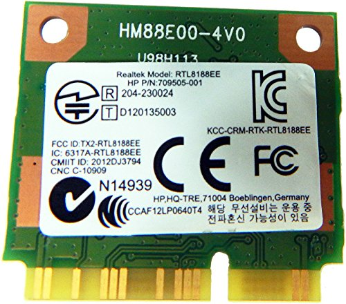HP Realtek RTL8188EE 80211 bgn 1x1 WiFi 709848-001 by HP