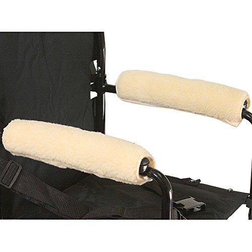 Armrest Fleece Wheelchair (Rose Health Care L l c Wheelchair Armrests Fleece Pair for Desk Arms 10 to 11 Part No.3009-10)