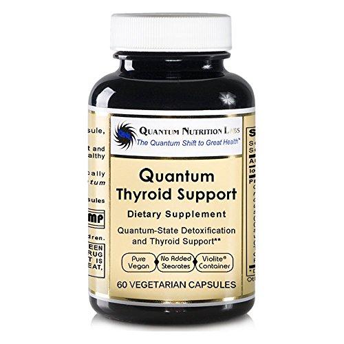 Quantum Thyroid Support, 120 Vegan Caps 2 Bottles - Quantum-State Premier Labs Thyroven Detoxification and Thyroid Support by Quantum Nutrition Labs