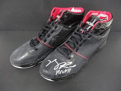 Derrick Rose Autographed Signed Ast Adizero Rose Shoes Autograph PSA/DNA Authentic