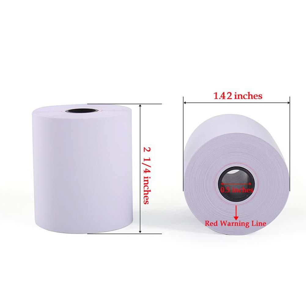 SJPACK Thermal Paper 2 1/4'' x 50' Pos Receipt Paper, 400 rolls Cash Register Roll (400 Rolls / 8 Cartons) by SJPACK (Image #2)