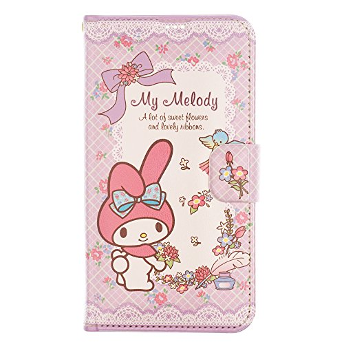 iPhone Xs/iPhone X Case My Melody Cute Diary Wallet Flip Synthetic Leather Anti-Shock Mirror Cover for Apple iPhone Xs/iPhone X (5.8inch) - My Melody Diary ()
