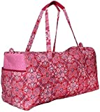 Women's Waverly Pink Paisley Duffel Bag