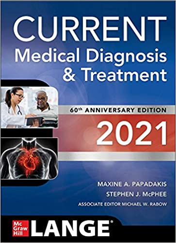 CURRENT Medical Diagnosis and Treatment 2021, 60th Edition - Original PDF