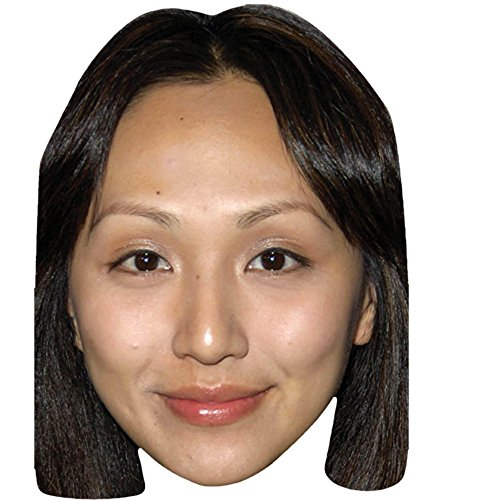 Linda Park Celebrity Mask, Card Face and Fancy Dress Mask