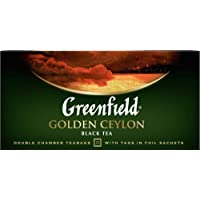 Greenfield, Golden Ceylon - Black Tea, 25 sobres