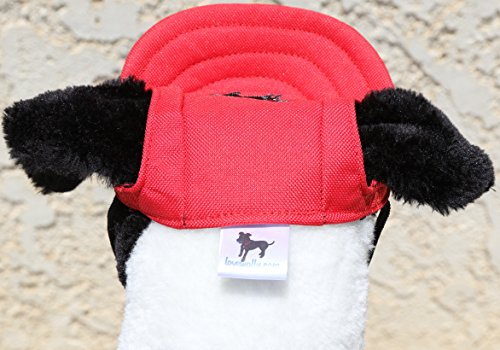 LoveWally Dog Outdoor PET Hat Black ♦ Adjustable Authentic (Large) by LoveWally (Image #7)
