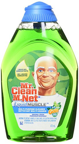 Mr. Clean Liquid Muscle Multi-Purpose Household Cleaner, Gain Original Fresh, 16 Fluid Ounce