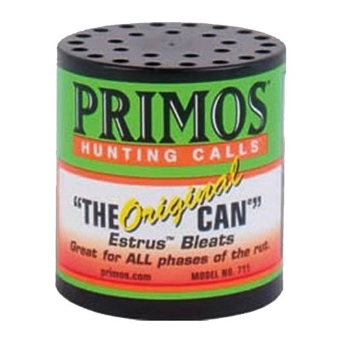 Primos The Original Can Deer Estrus Bleat Call from (Bleat Doe Sound)