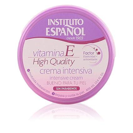 Instituto Español Vitamina E Elasticidad Crema Corporal - 400 ml