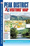 Front cover for the book A-Z Visitors' Map of the Peak District by Geographers' A-Z Map Company