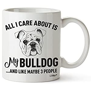 Bulldog Mom Gifts Mug For Christmas Women Men Dad Decor Lover Decorations Stuff I Love Bulldogs Coffee Accessories Talking Art Apparel Funny Birthday Gift Home Supplies Products Dog Coffee Cup Mugs 1