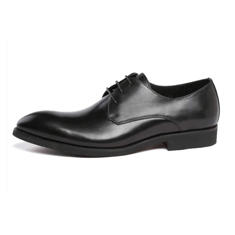 ZQZQ England, Mode, Geschäft, Formelle Kleidung, Komfort, Spitz schwarz