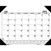 House of Doolittle 2016-2017 Monthly Desk Pad Calendar, Academic, Economy, 22x17-Inch (HOD12502-17)