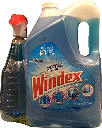 Windex Original Glass Cleaner 32 OZ /176 Floz Net 208 FL Oz, 208 fl. oz.