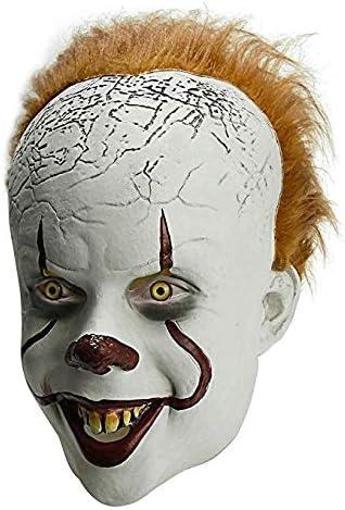 Disfraz De Máscara De Payaso Aterrador De Halloween Pennywise ...