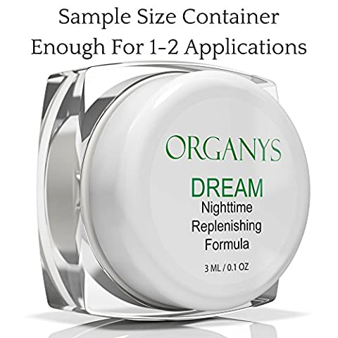 Organys Anti Aging Night Cream Face Moisturizer With Anti Wrinkle Peptides Reduces Deep Wrinkles Fine Lines Crow's Feet Lift Firm Tighten The Skin On The Forehead And Neck Natural Rich Best - Protein Booster Skin Serum