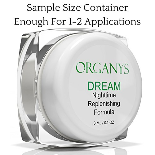 Title name: Organys Anti Aging Night Cream Face Moisturizer Improves The Appearance of Wrinkles Fine Lines Making The Skin Look Firmer And Tighter On The Face Forehead Neck Chest Natural Best Selling