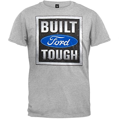 Ford - Built Tough Stamp Grey T-Shirt
