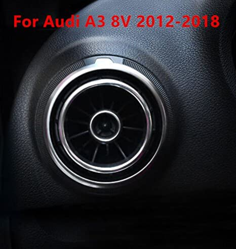 For Audi A3 8V 2012 2013 2014 15-18 Interior Front Air Vent Outlet Cover Trim