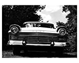 1957 Ford Fairlane 500 Automobile Photo Poster