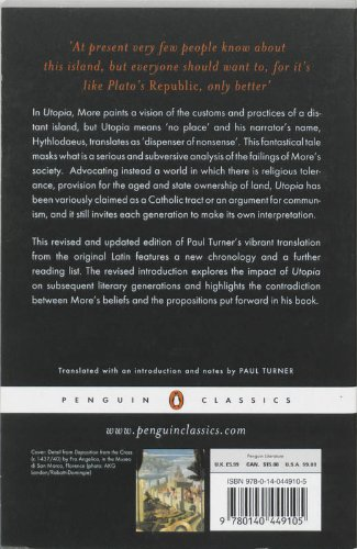who wrote the book utopia