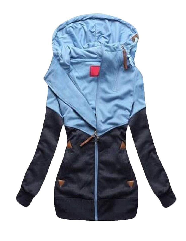 Frieed Women Top Denim Shawl Thin 3//4 Sleeve Knot Dress Shirt