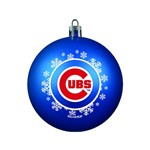 MLB Chicago Cubs Ball Ornament